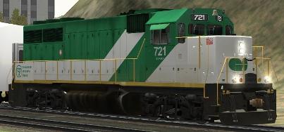 GOT GP40-M-2 #721