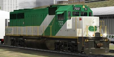 GOT GP40-M-2 #722