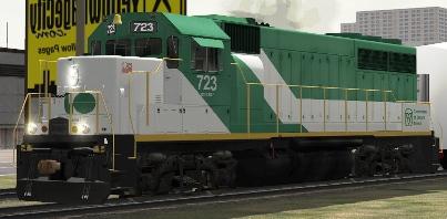 GOT GP40-M-2 #723