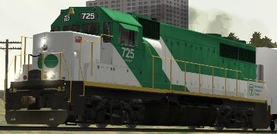 GOT GP40-M-2 #725