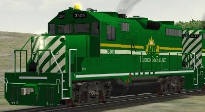 Hudson Bay Railway GP20 #2505