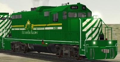 Hudson Bay Railway GP10 #2511