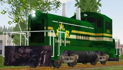 Hudson Bay Railway SW8 #2512
