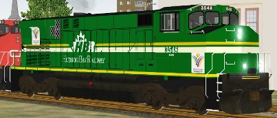 Hudson Bay Railway M-420W #3548