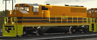 HCRY GP40-2(W) #3010