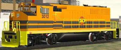 HCRY GP40-2(W) #3012