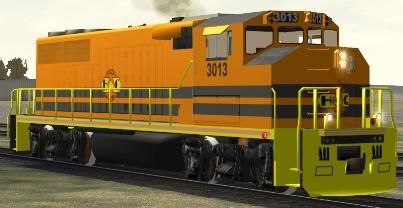 HCRY GP40-2(W) #3013