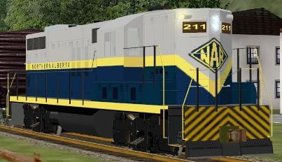 Northern Alberta Railway GP9 #211