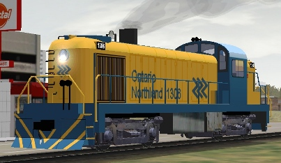 Ontario Northland RS-3 #1306 (shown with upgrade by John Fowlis)