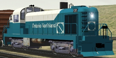 Ontario Northland RS-3 #1311 (shown with upgrade by John Fowlis)