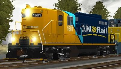 Ontario Northland GP9 #1601