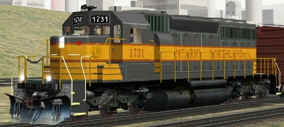 Ontario Northland SD40-2 #1731
