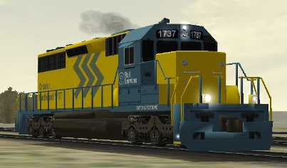 Ontario Northland SD40-2 #1737 (onrsd402.zip, not exactly as shown)