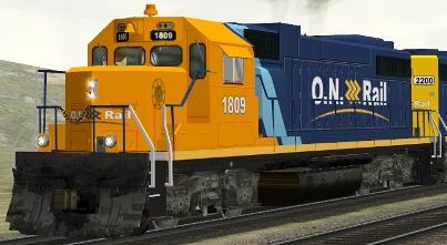 Ontario Northland GP38-2 #1809