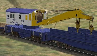 Ontario Northland 120-Ton Crane #503