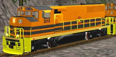 QGRY GP40-2L(W) #3015