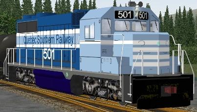 QSR GP35 #501