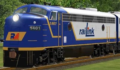 RLK FP9A #1401