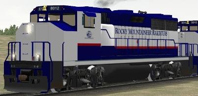 Rocky Mountaineer Railtours GP40-2L(W) #8012