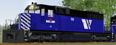 SRY SD38-2 #383