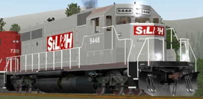 St. Lawrence & Hudson SD40-2 #5448