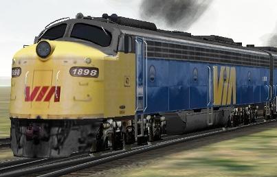 VIA Rail E8A #1898