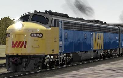 VIA Rail E8A #1899