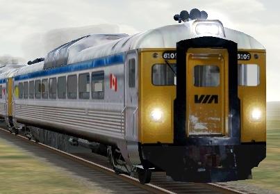 VIA Rail RDC-1 #6109