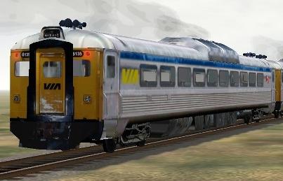 VIA Rail RDC-1 #6135