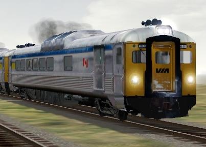 VIA Rail RDC-2 #6205