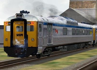 VIA Rail RDC-2 #6207