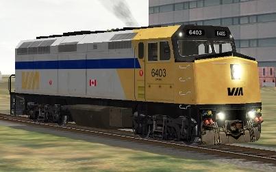 VIA Rail Canada F40PH-2 #6403
