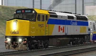 VIA Rail Canada F40PH-2 #6420