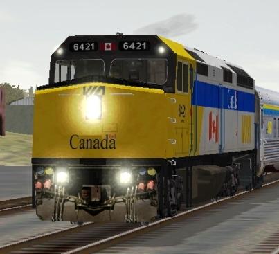 VIA Rail Canada F40PH-2 #6421