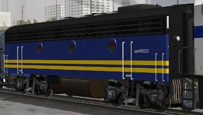 VIA Rail F9B #6622