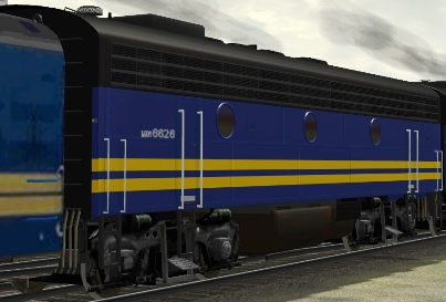 VIA Rail F9B #6626