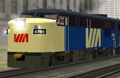 VIA Rail FPA-4 #6790