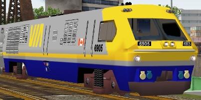 VIA Rail LRC-2 #6905