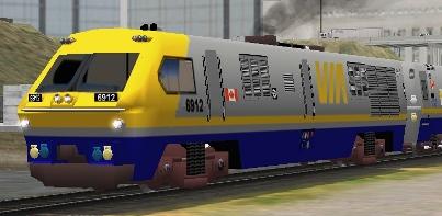 VIA Rail LRC-2 #6912