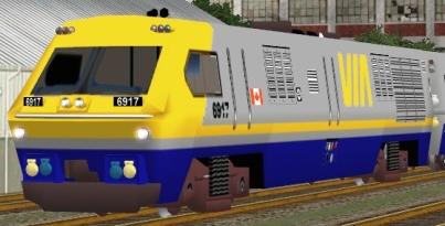 VIA Rail LRC-3 #6917