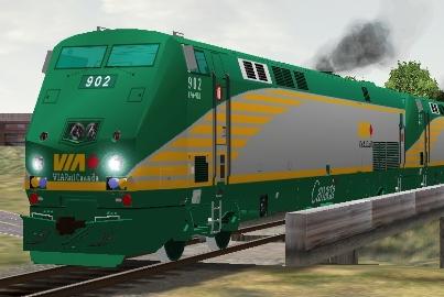 VIA Rail Canada P42DC #902 (via902.zip shown)
