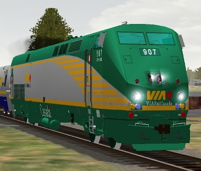 VIA Rail Canada P42DC #907 (via907.zip shown)