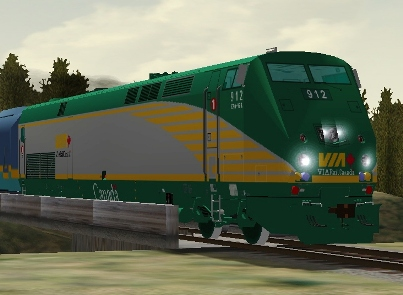 VIA Rail Canada P42DC #912 (via912.zip shown)