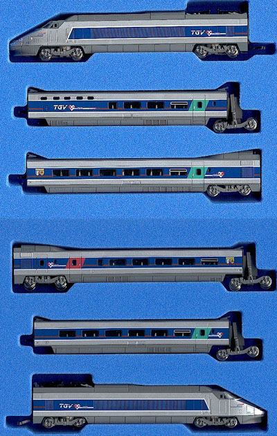 Ho scale tgv train sets ho