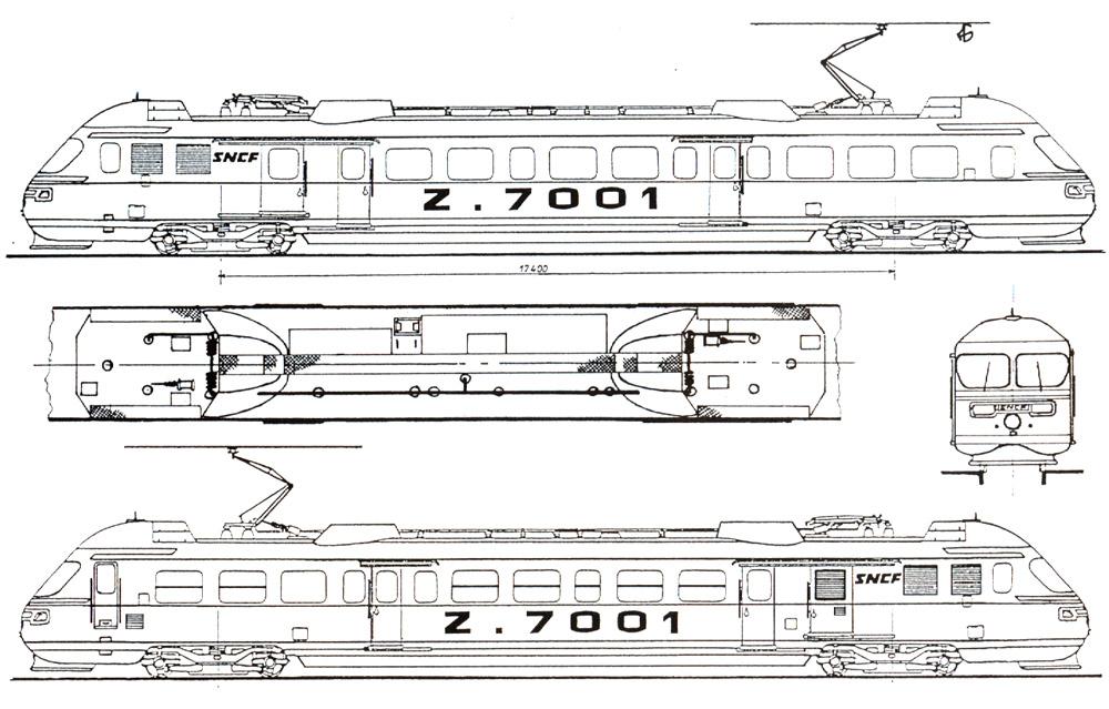 Plan And Elevation Of Car : Zebulon diagram