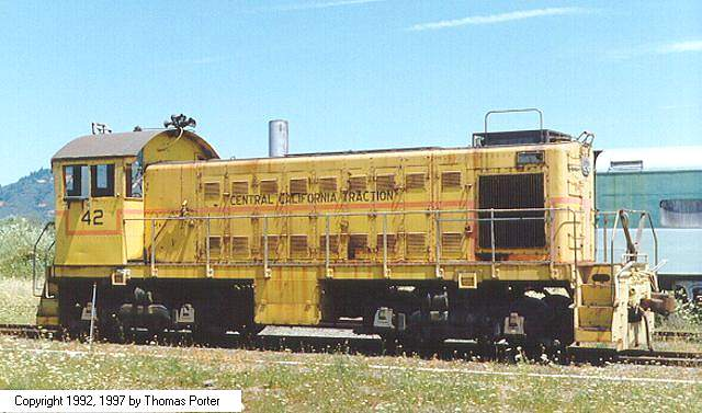 CCT 42 now at Willits CA. Tom Porter Photo