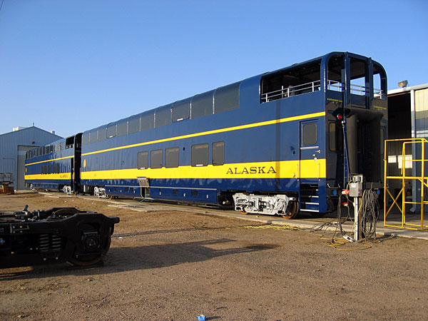 alaska railroad 39 s new dome cars. Black Bedroom Furniture Sets. Home Design Ideas