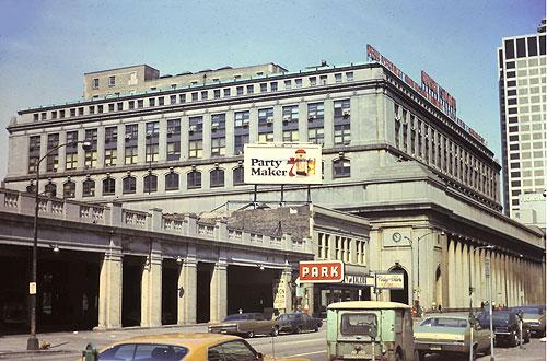 Chicago Union Station April 1971