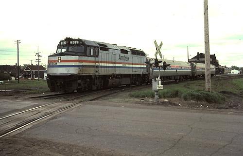 runaway amtrak train duluth