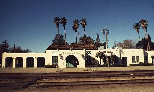 Amtrak Pasadena Station November 1972